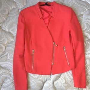 Asos Coral blazer Chic-  size S